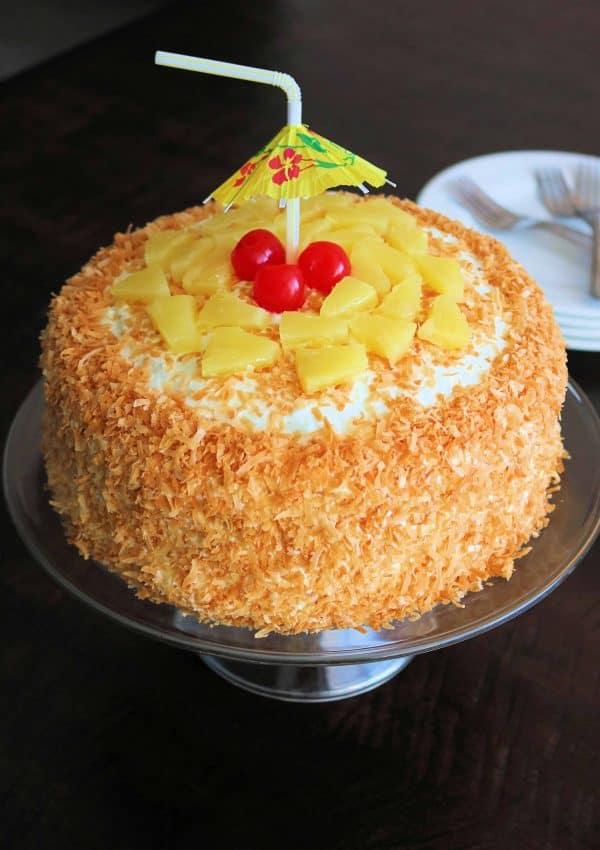 Best Ever Pina Colada Cake (So Good!)