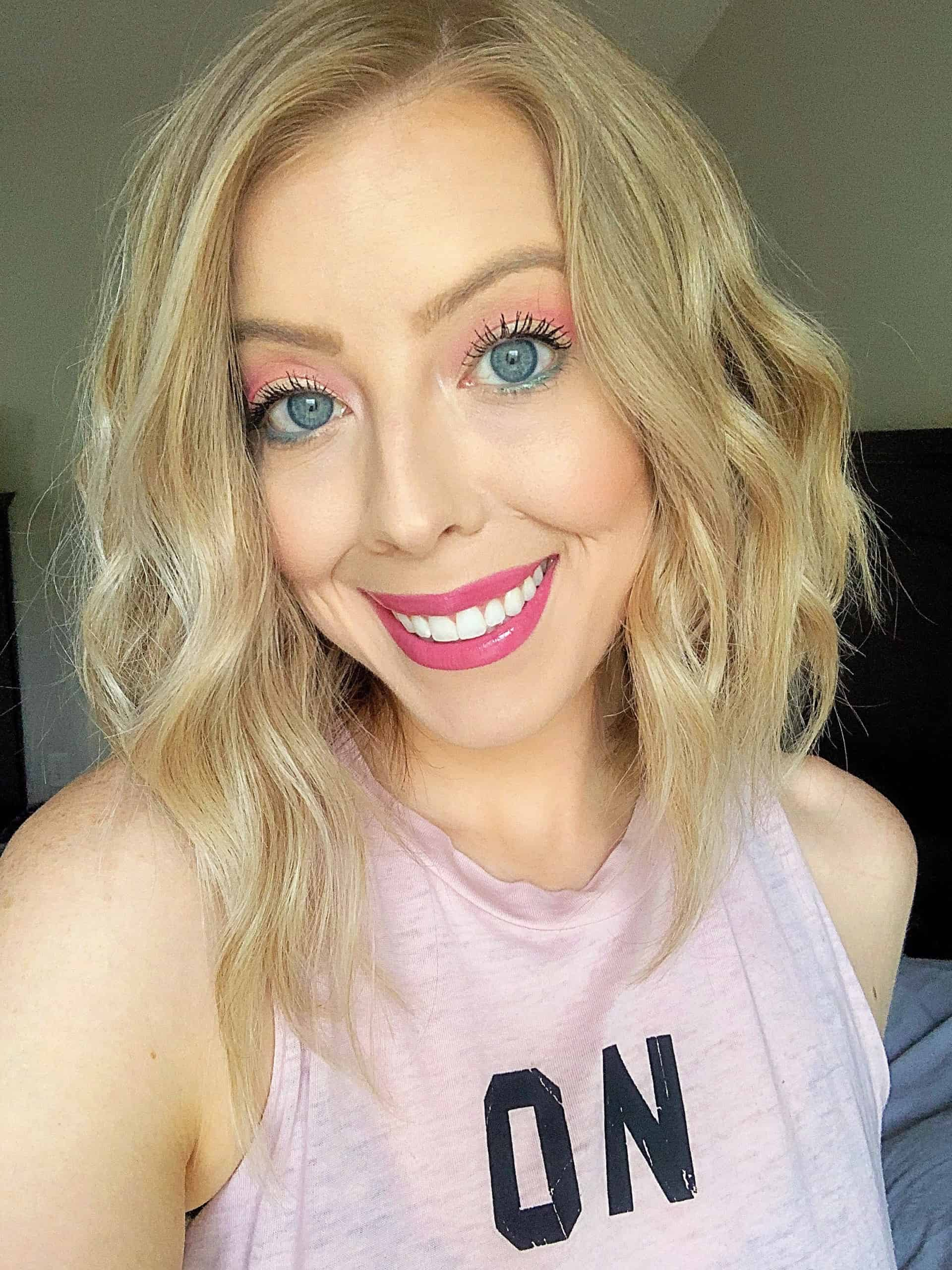 Check out my roundup of the best spring makeup trends and makeup products to try this year! I'm sharing pretty spring makeup looks to re-create and my favorite, new drugstore makeup products and affordable makeup recommendations. #springmakeup #makeuplook #drugstoremakeup #makeuptrends