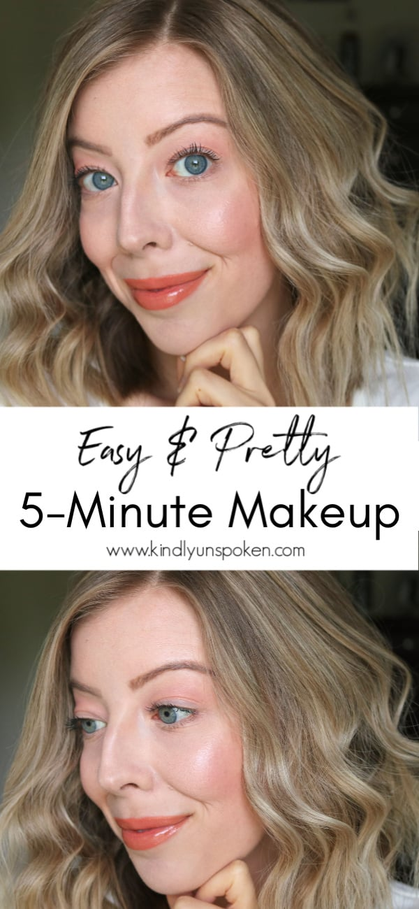 Looking for a simple, natural makeup look for Spring and Summer? Try this pretty and glowing 5-Minute Fresh Faced Makeup Look that uses the Physicians Formula Natural Defense Drugstore Makeup Collection to enhance your natural beauty and protect your skin from the sun and environment. #ad #physiciansformula #naturaldefense #drugstoremakeup #naturalmakeup