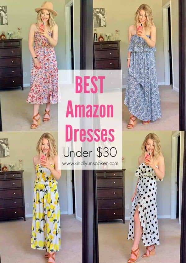 Affordable Summer Dresses – Under $30 Amazon Haul