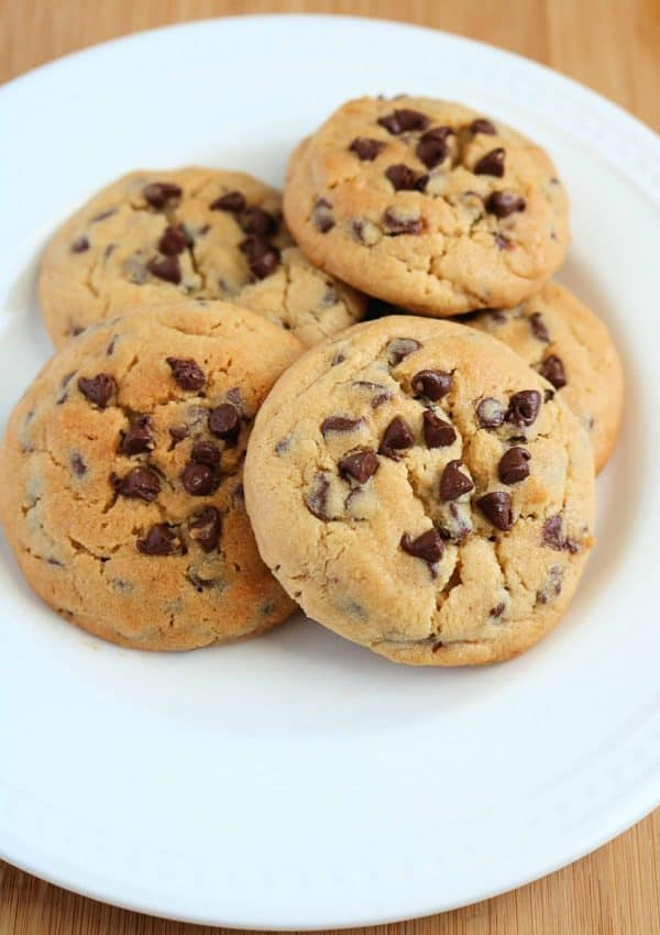 Best Ever Easy Peanut Butter Chocolate Chip Cookies