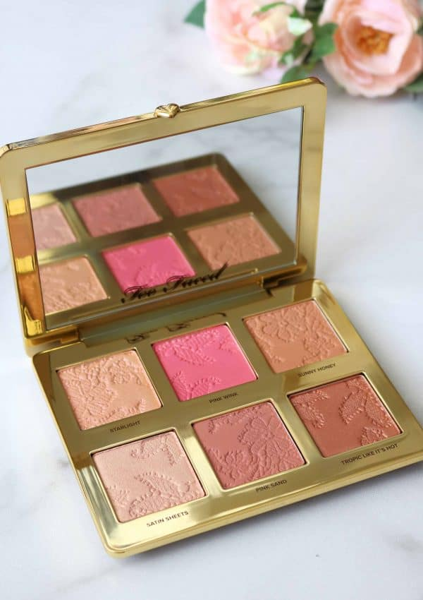 Too Faced Natural Face Palette Review