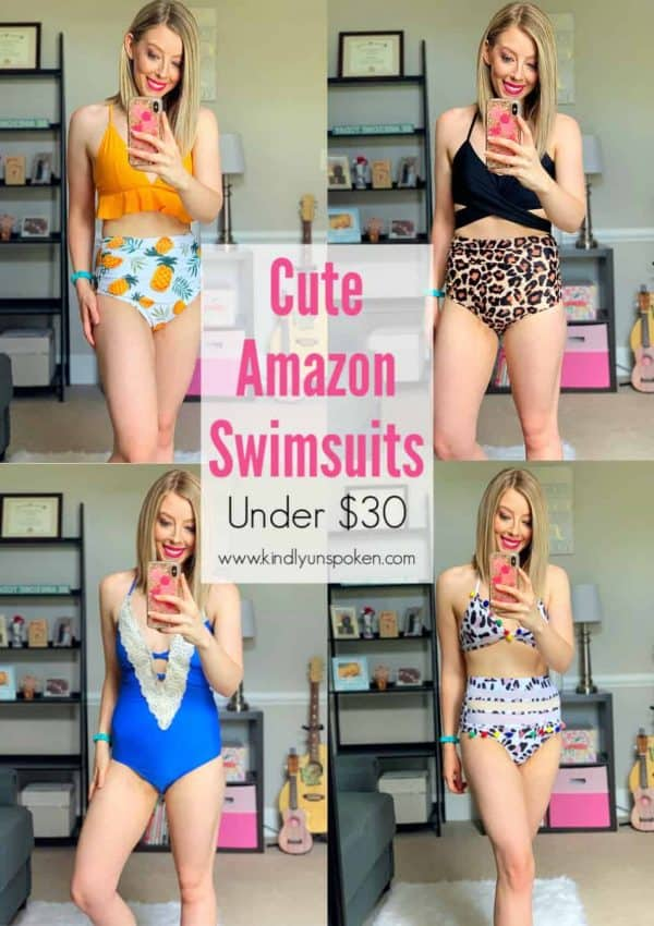 Cute Swimsuits Under $30 (Amazon Swim Haul)