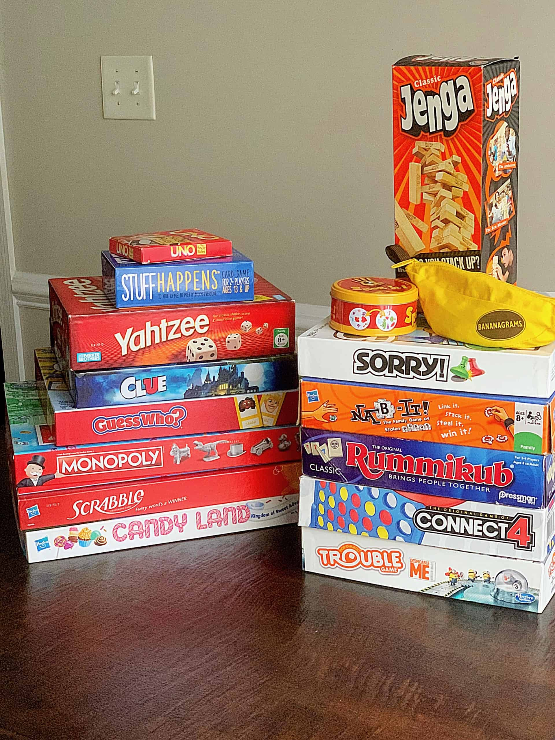 Your family will love my list of 25 Best Board Games for Family Night! These easy family board games, card games, and hands-on games are fun for all ages and perfect for playing on a weekly family game night or during the holidays with family and friends. #boardgames #familynight #familygamenight #familygames