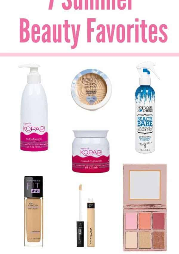 7 Summer Beauty Favorites + New Products I'm Loving