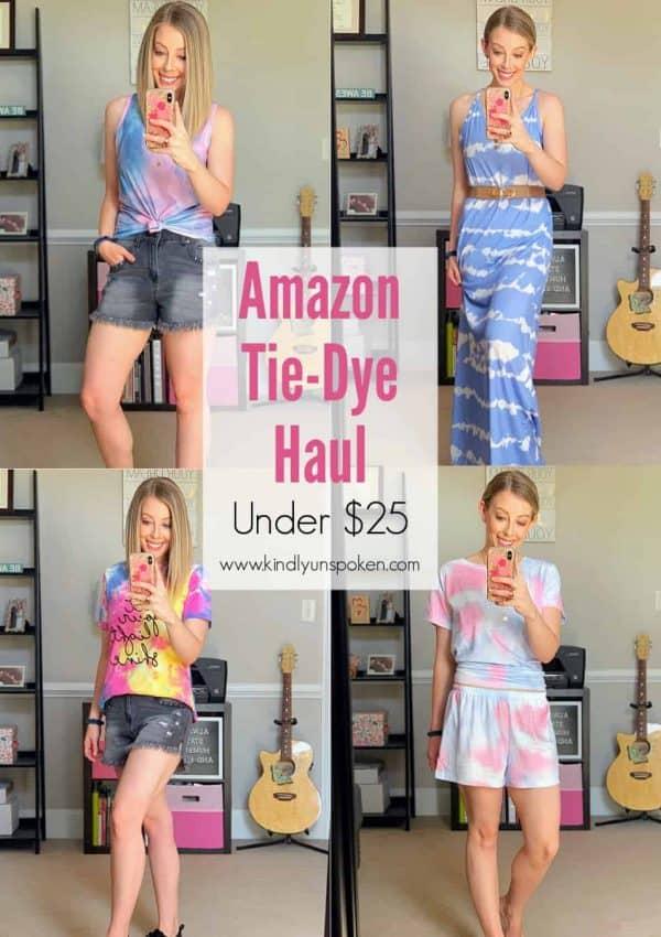 Cute Tie Dye Outfits – Amazon Haul