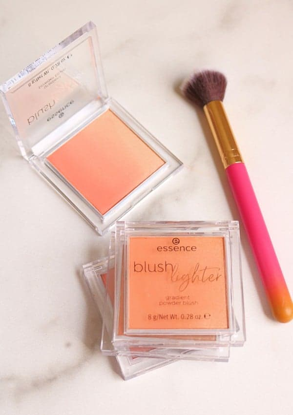 Essence Blush Lighter Swatches + Review