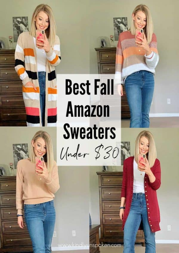 8 Best Amazon Sweaters – Affordable Fall Amazon Haul