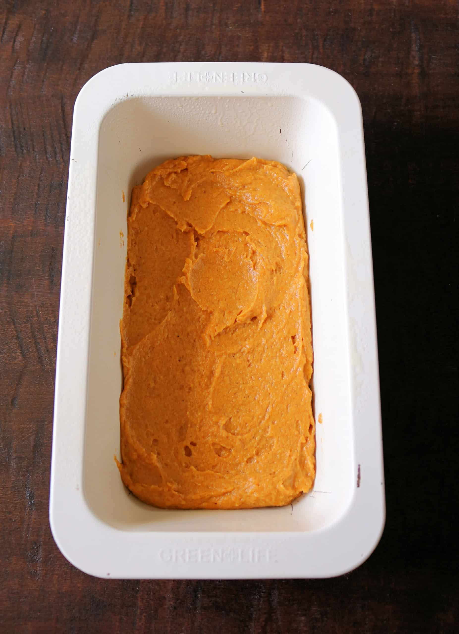 This soft, moist, and delicious pumpkin bread is the BEST Pumpkin Cream Cheese Bread you'll ever eat! It's made easy with pumpkin puree, pumpkin pie spice, and has beautiful swirls of cream cheese baked inside that tastes like cheesecake! #pumpkinbread #falldesserts #pumpkindessert #bread
