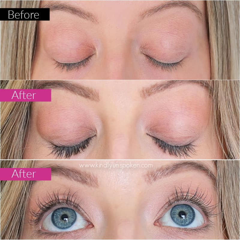 If you're looking for the best eye lash serum to get thicker, longer-looking lashes, then check out my honest 3 Month GrandeLash Review with my incredible before/after results!  #GrandePartner #GrandeCosmetics #lashserum #beautyreview