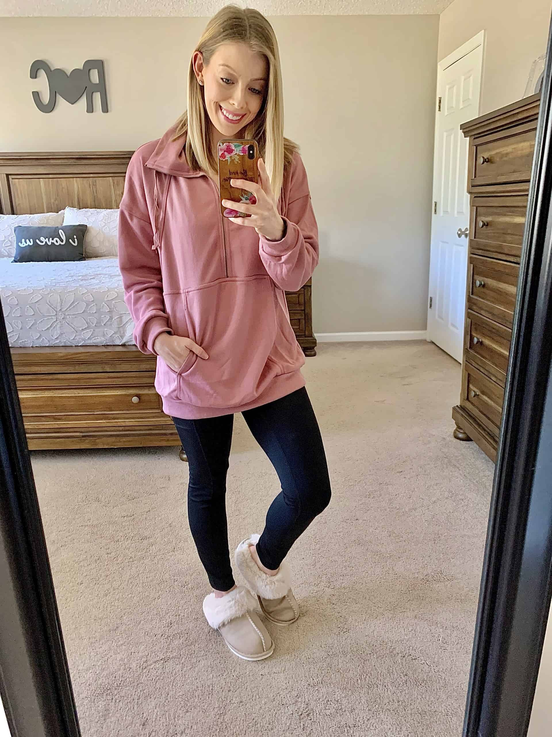 Check out my Affordable Winter Amazon Fashion Haul with cute and casual outfits and comfy loungewear for working from home! These cute amazon finds are all under $35! #amazonhaul #amazonfinds #amazon #amazonfashion #tryonhaul